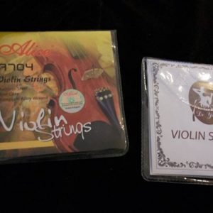 SET OF VIOLIN STRINGS